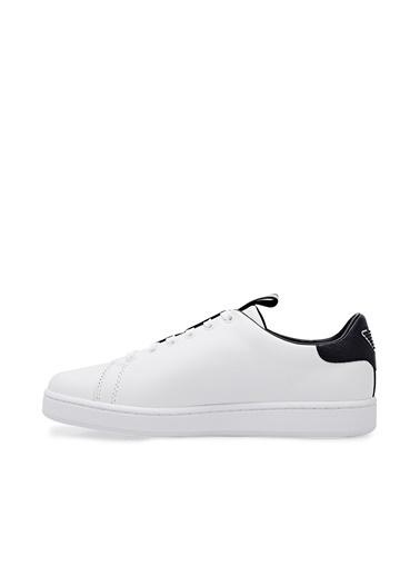 Emporio Armani  Hakiki Deri Casual Ayakkabı Kadın Ayakkabı X3X132 Xm789 D611 Beyaz